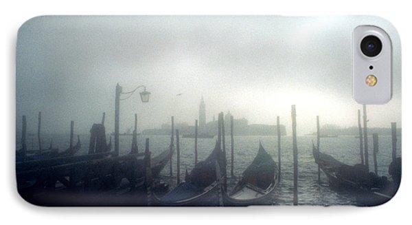 View Of San Giorgio Maggiore From The Piazzetta San Marco In Venice Phone Case by Simon Marsden