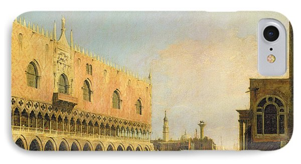 View Of The Piazzetta San Marco Looking South Phone Case by Canaletto