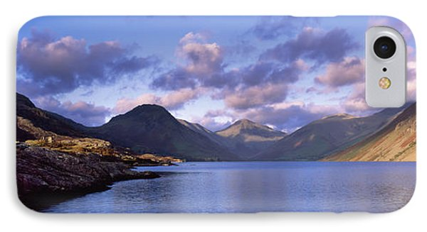 View Of Wastewater, Located In The Lake Phone Case by Axiom Photographic