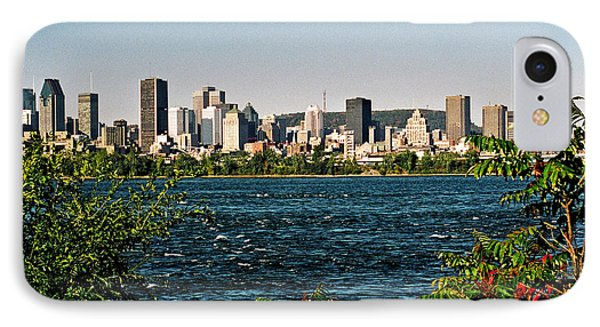 IPhone Case featuring the photograph Ville De Montreal by Juergen Weiss
