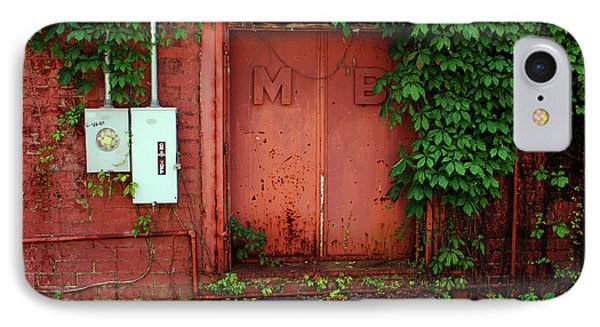 IPhone Case featuring the photograph Vines Block The Door by Paul Mashburn