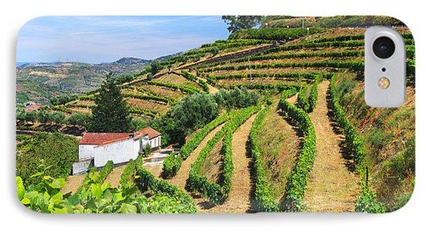 Vineyard Landscape Phone Case by Carlos Caetano