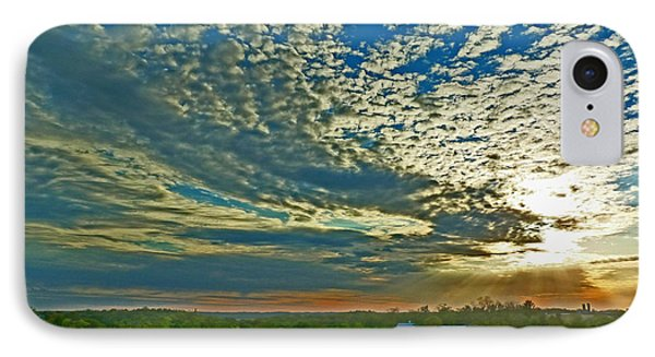 IPhone Case featuring the photograph Vineyard Sunset I by William Fields