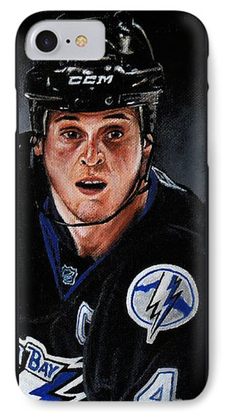 Vinny Lecavalier Phone Case by Marlon Huynh