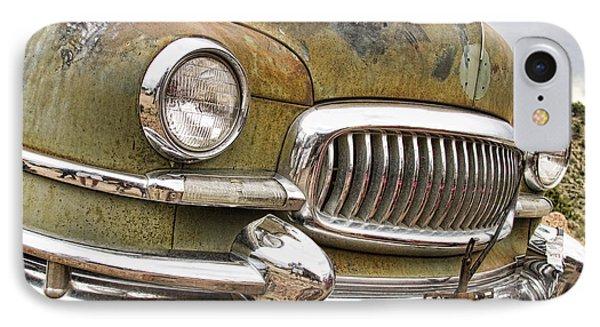 Vintage 1951 Nash Ambassador Front End 2 Phone Case by James BO  Insogna