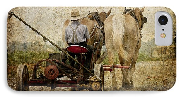 Vintage Amish Life D0064 Phone Case by Wes and Dotty Weber
