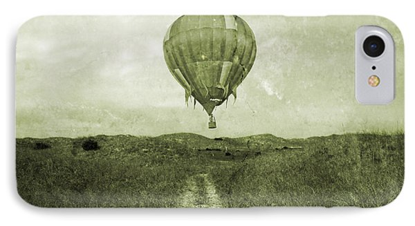 Vintage Ballooning IPhone Case by Betsy Knapp