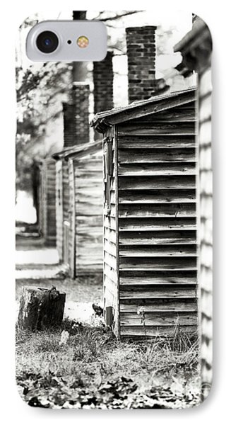 Vintage Cabins Phone Case by John Rizzuto