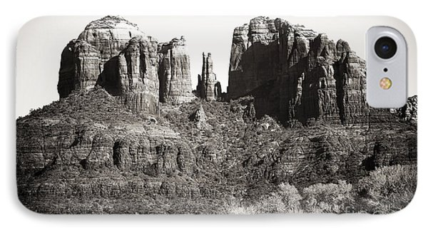 Vintage Cathedral Rock Phone Case by John Rizzuto