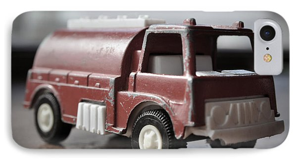 Vintage Fire Truck 2 Phone Case by Kathy Schumann