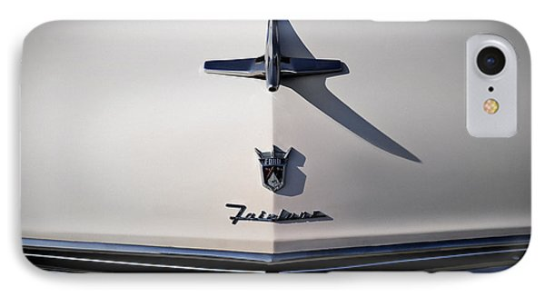 Vintage Ford Fairlane Hood Ornament IPhone Case by Douglas Pittman