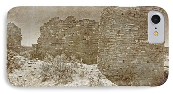 Vintage Hovenweep Castle Phone Case by Bob and Nancy Kendrick
