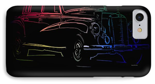 IPhone Case featuring the photograph Vintage Mercedes by George Pedro