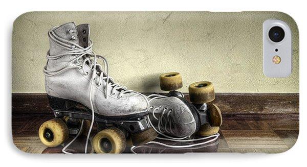 Vintage Roller Skates  IPhone Case