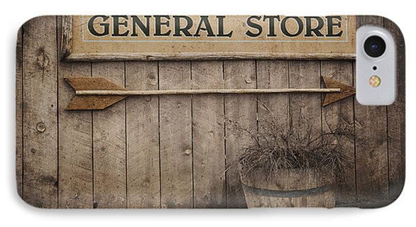 Vintage Sign General Store Phone Case by Jane Rix