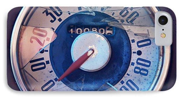 Vintage Speed Indicator  Phone Case by Priska Wettstein