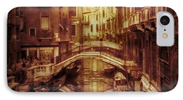 Vintage Venice IPhone Case by Jessica Jenney