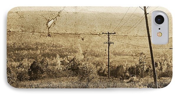 Vintage View Of Ontario Fields IPhone Case
