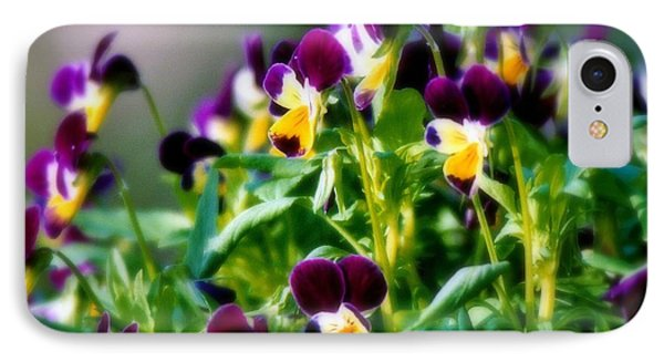 Viola Parade Phone Case by Karen Wiles