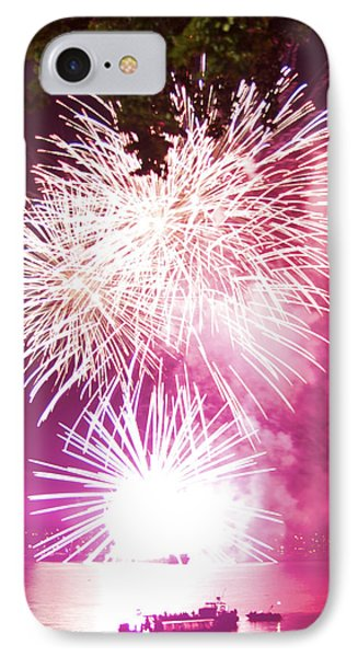 Violet Explosion IPhone Case by JM Photography