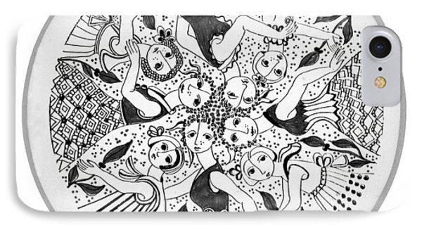 Virgae IPhone Case by Rachel Hershkovitz