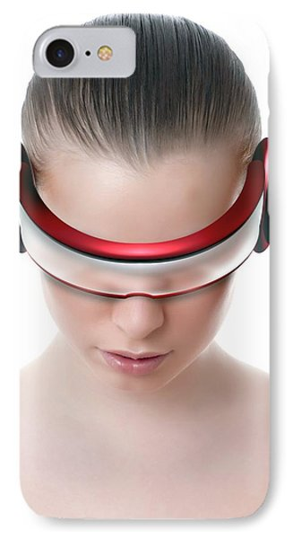 Virtual Reality Headset IPhone Case by Victor Habbick Visions