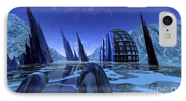 Visitation Phone Case by Nicholas Burningham