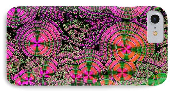 Vitamin C Crystals Spikeberg Phone Case by M I Walker
