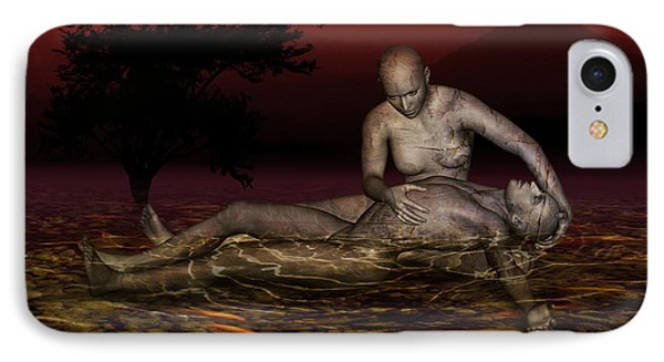 Volcanos Pieta IPhone Case