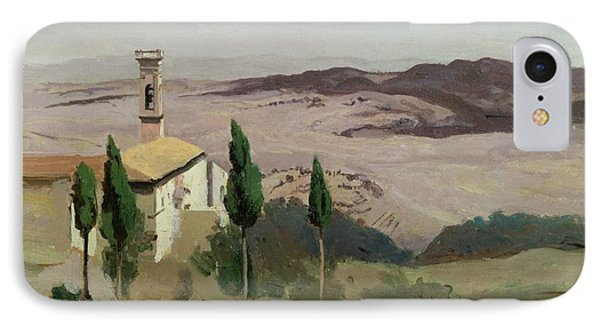 Volterra Phone Case by Jean Baptiste Camille Corot