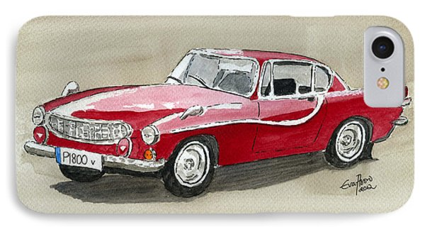 Volvo P1800 IPhone Case by Eva Ason
