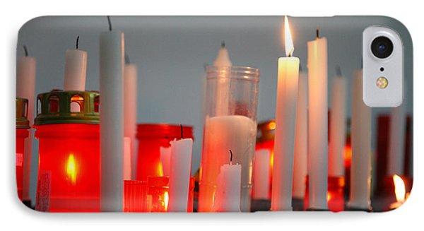 Votive Candles Phone Case by Gaspar Avila