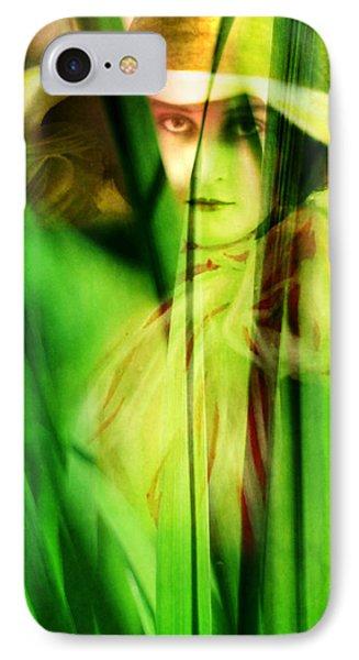 Voyeur Phone Case by Rebecca Sherman