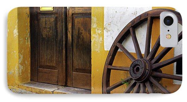 Wagon Wheel Phone Case by Carlos Caetano