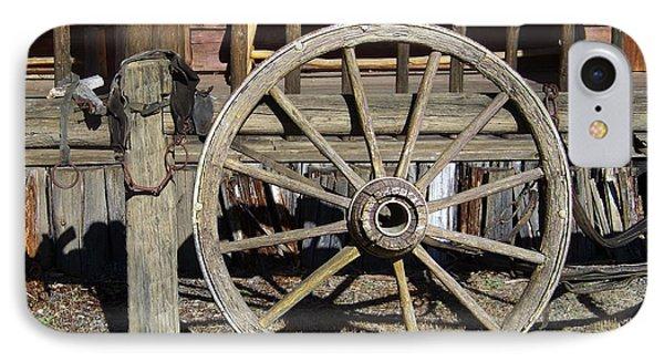 Wagon Wheel Phone Case by Charles Robinson