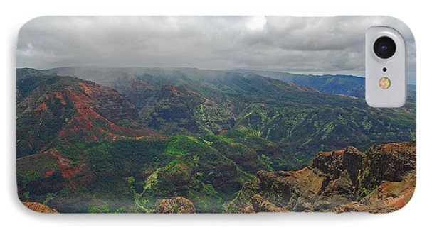 Waimea Canyon Weather Phone Case by Lynn Bauer