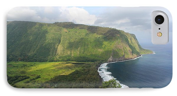 IPhone Case featuring the photograph Waipio Valley by Scott Rackers