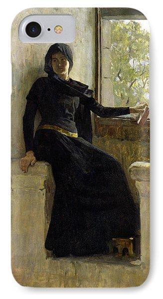 Waiting Phone Case by Jean Pierre Laurens