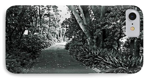 Walk In The Park V2 IPhone Case by Douglas Barnard