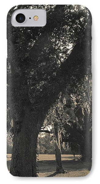 IPhone Case featuring the photograph Walk Through The Oaks by Brian Wright