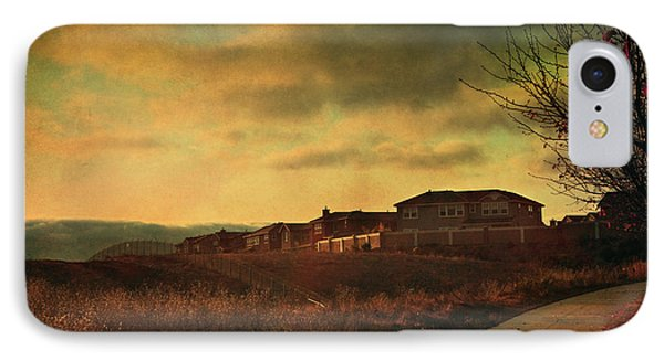 Walking Alone IPhone Case by Laurie Search