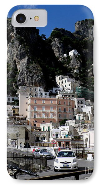 IPhone Case featuring the photograph Walking Along The Amalfi Coast  3 by Tanya  Searcy
