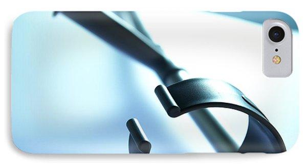 Walking Crutch Phone Case by Adam Gault