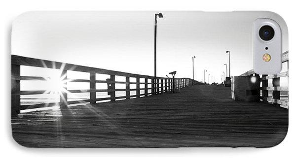Walking The Planks Sunrise Phone Case by Betsy Knapp