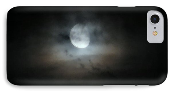 Walking With The Moon IPhone Case