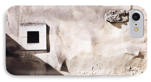 Wall With Square Hole IPhone Case by Agnieszka Kubica