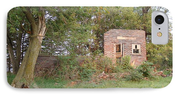 IPhone Case featuring the photograph Walnut Grove School Ruins by Bonfire Photography