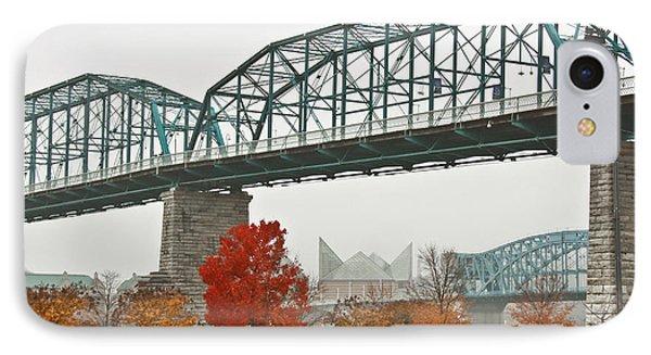 Walnut Street Bridge Phone Case by Tom and Pat Cory