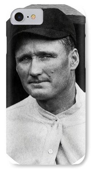 IPhone Case featuring the photograph Walter Johnson - Washington Senators Baseball Player by International  Images