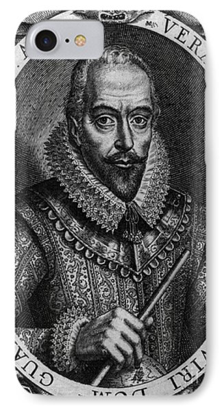 Walter Raleigh, English Courtier Phone Case by Photo Researchers